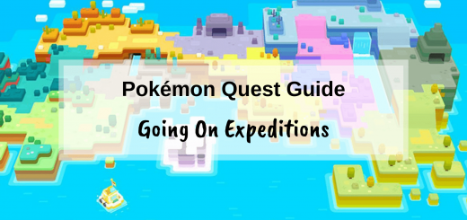 Pokémon Quest Guide - Going on expeditions