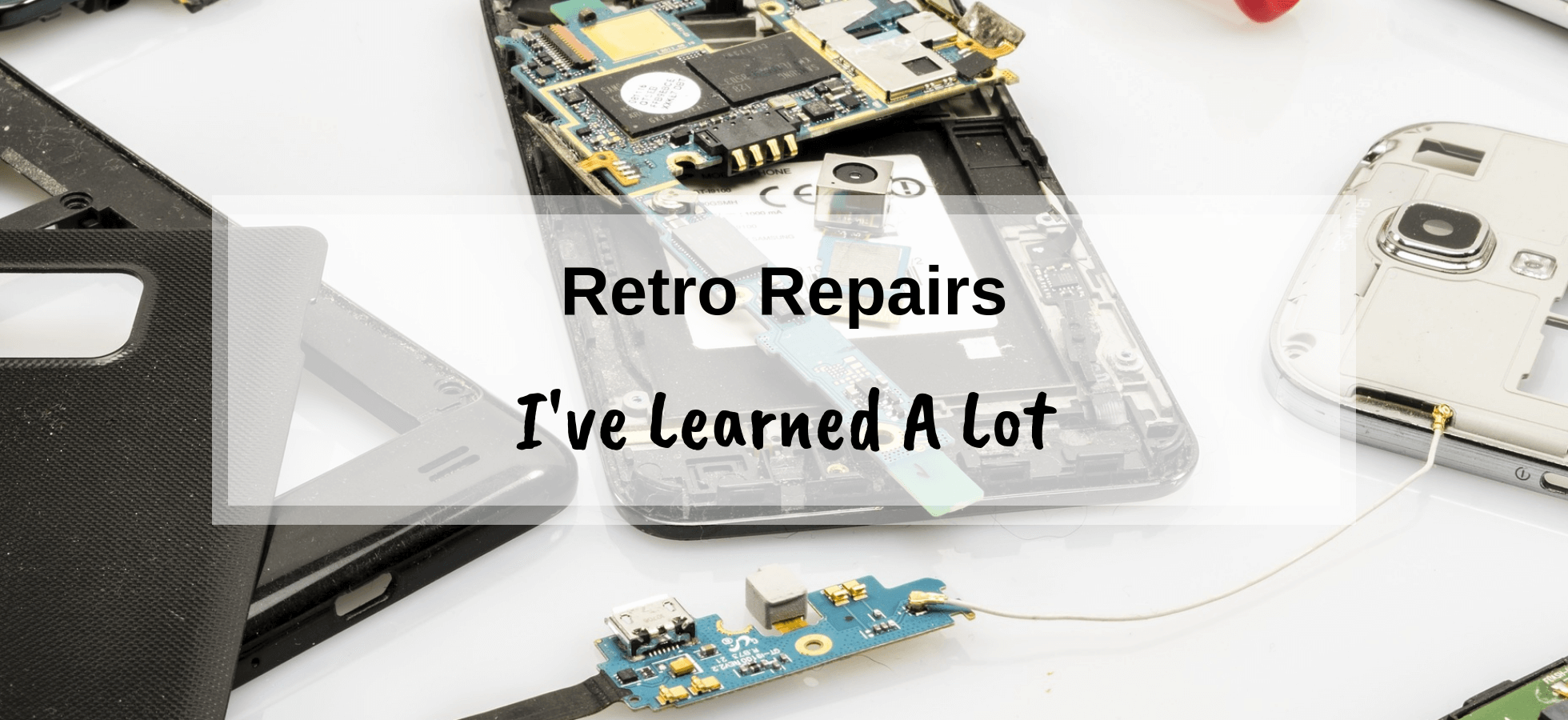 My time doing gaming retro repairs – I've learned a lot