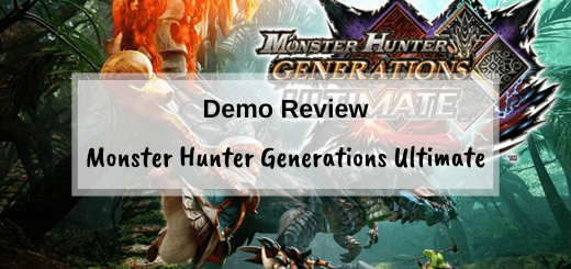 Monster Hunter Generations Ultimate Switch Demo