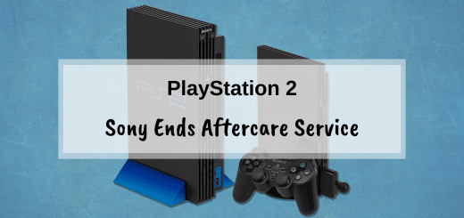 Sony ends aftercare service for the PlayStation 2
