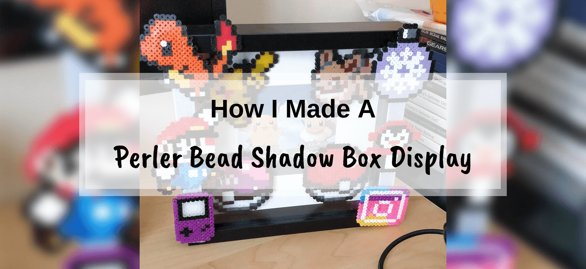 How To Make A Perler Bead Shadow Box Display