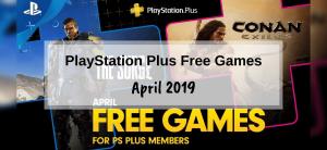 PlayStation Plus Games – April 2019