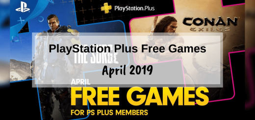 PlayStation Plus Free Games - April