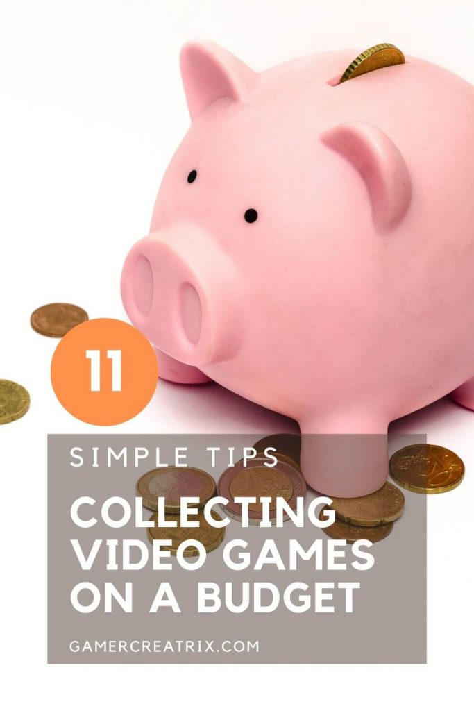 Video Games On A Budget - Pin 1