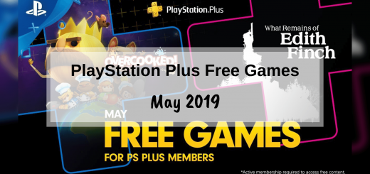 PlayStation Plus Free Games - May
