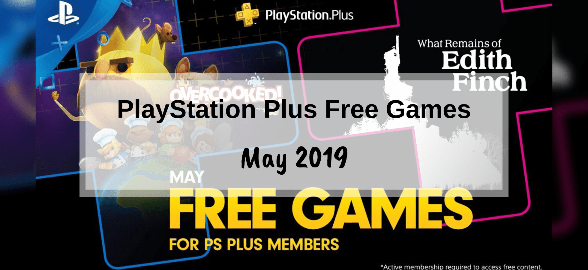 PlayStation Plus Games – May 2019