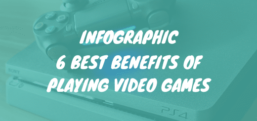 6 best benefits of playing video games