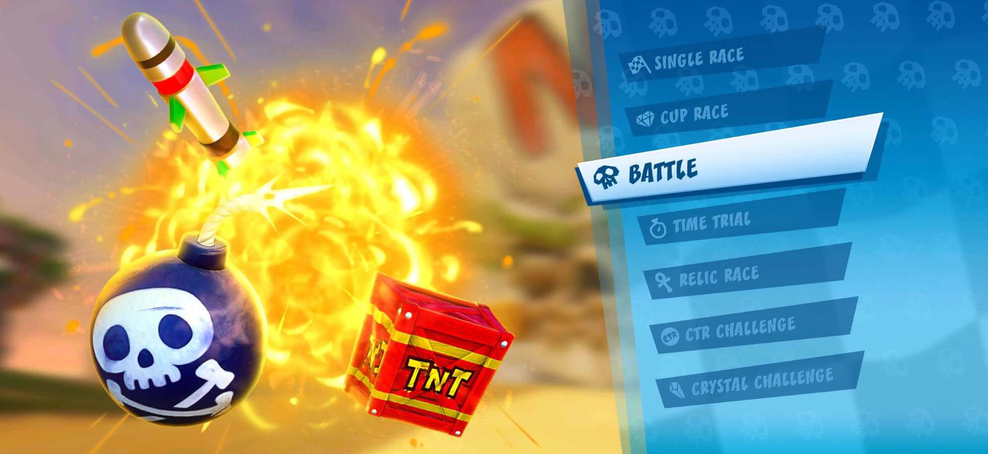 9 Do something other than just racing – compete in battle modes