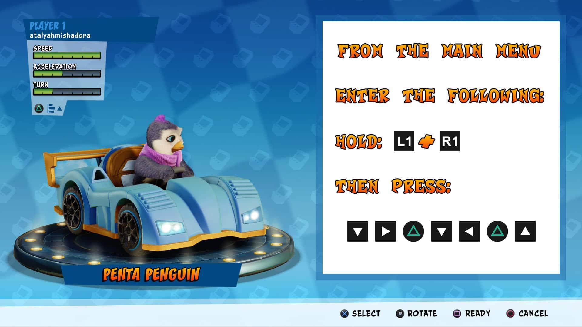 How to unlock Penta Pengiun in Crash Team Racing Nitro Fueled