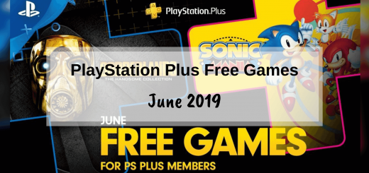 PlayStation Plus Free Games - June 2019
