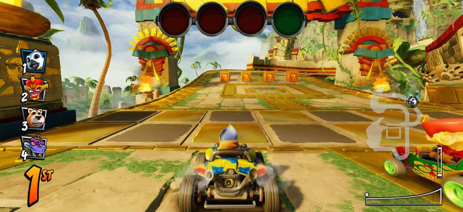 2 Learn to start with a speed boost - Crash Team Racing