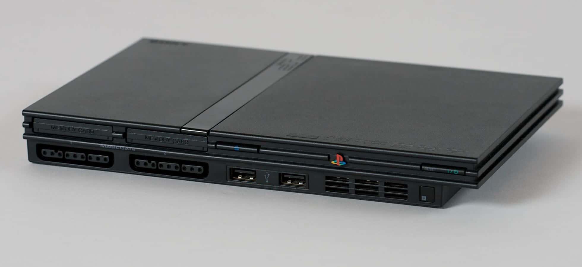 PS2 Slim Model