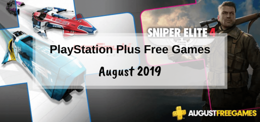 PlayStation Plus Games - August 2019