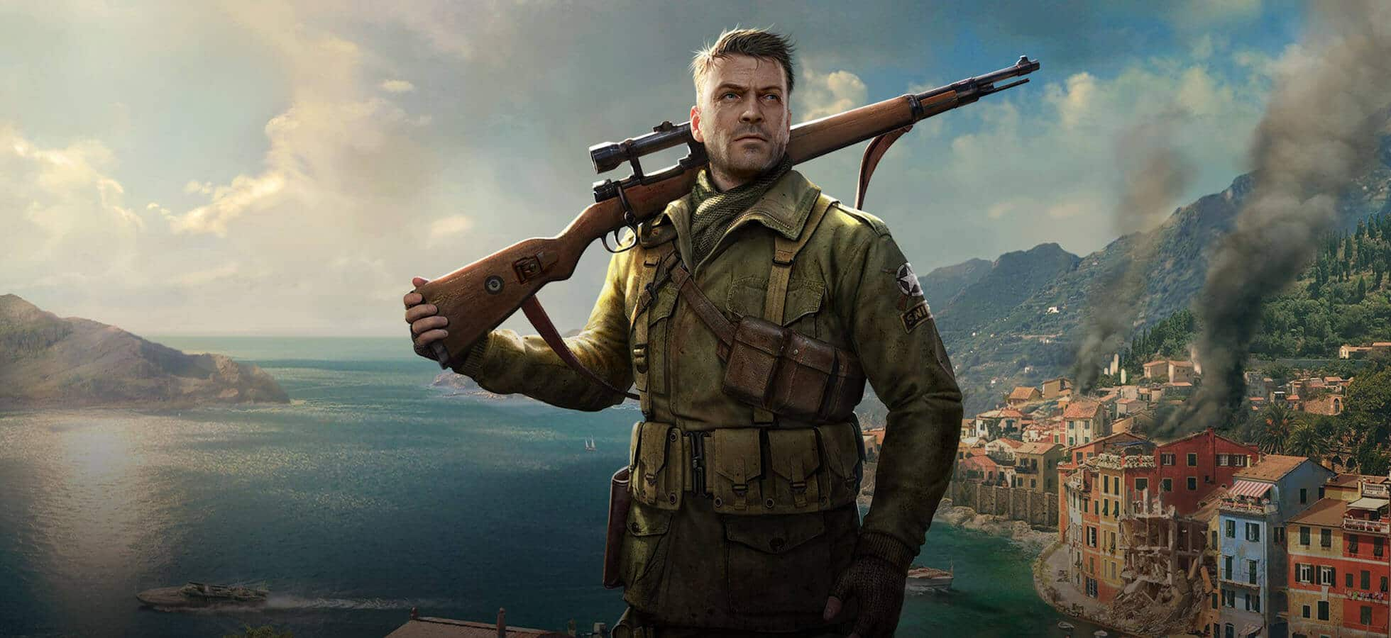 Sniper Elite 4 is a third person shooter