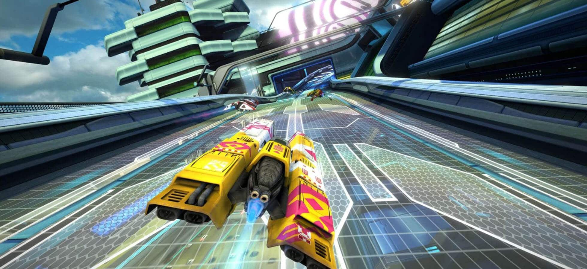 Wipeout Omega Collection is a sci-fi fast paced racing game