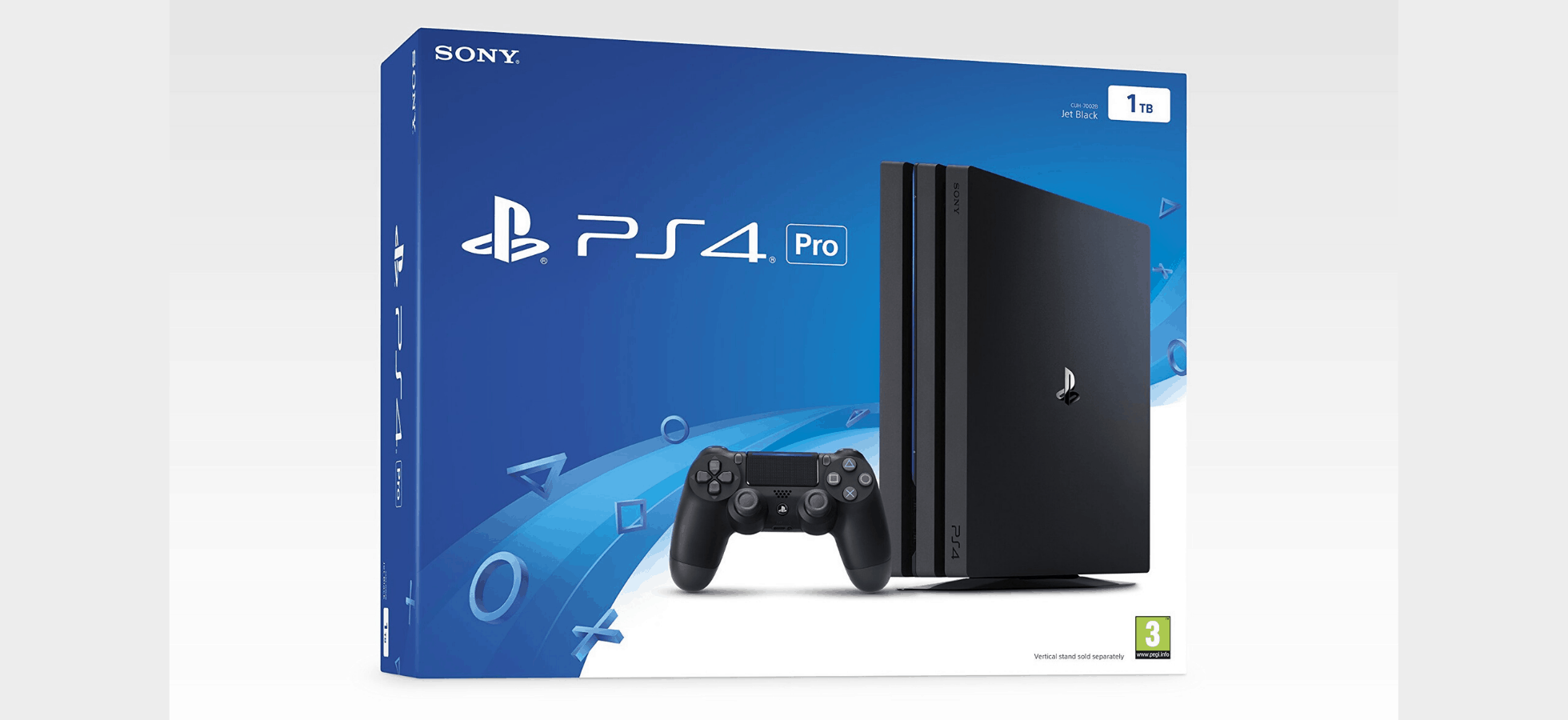 PS4 what's in the box