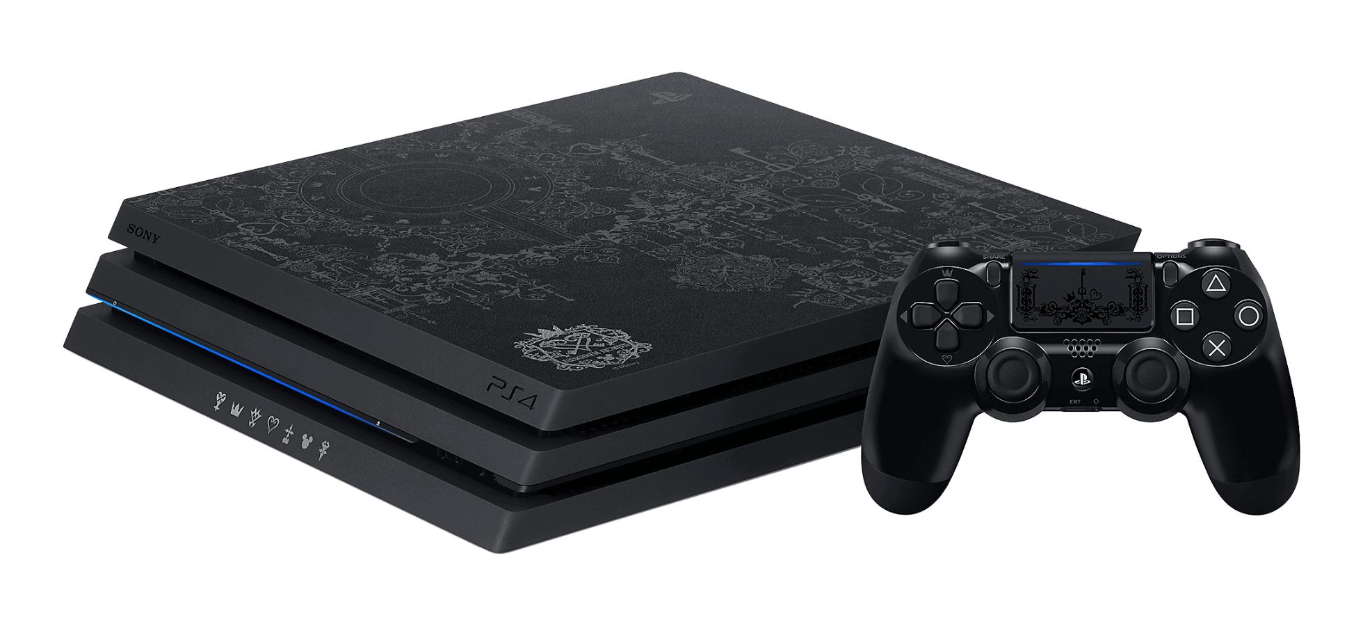 Special Edition Kingdom Hearts PS4 Pro